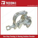 Tipo británico acoplador/abrazadera dobles fijos de la venta caliente de Tecon para el andamio del tubo