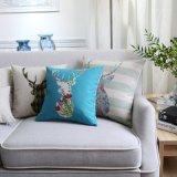 Almohadillas de tiro occidentales de lino del algodón muy barato para el sofá