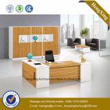 De nieuwe Eiken Witte Lijst van het Bureau van de Melamine van de Kleur Uitvoerende (hx-GD009)