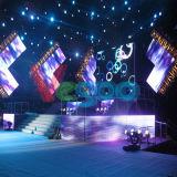 고품질 LED 영상 벽을%s 실내 임대료 발광 다이오드 표시 P6 (768mm*768mm) 내각