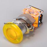 Dia22mm-La118alm4押しボタンスイッチ、黒、赤、緑、黄色、青、白いカラー、6V-380V電圧