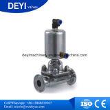 Мембранные клапаны привода нержавеющей стали Ss316L Китая пневматические