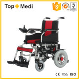 Topmedi pliant le fauteuil roulant automatique de moteur électrique de pouvoir pour les handicapés Handicapped