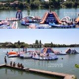 2017 het Hete Park van het Water van de Kwaliteit van pvc Opblaasbare Drijvende voor Overzees