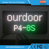 Pared al aire libre del vídeo del alquiler LED de HD P4 SMD2525 256*128m m