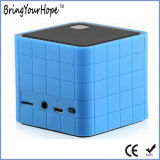 TF Card Aux Play Cube Mini Bluetooth Speaker em Silicone (XH-PS-629)