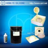 Borracha de silicone curada platina de RTV para o molde concreto