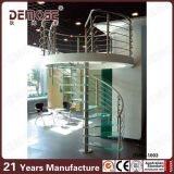 使用された屋内ガラス螺旋階段(DMS-1003)