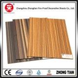 Finissage extérieur de suède et stratifiés à haute pression décoratifs