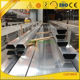 構築及び装飾のためにアルミニウムCustomziedの粉によって塗られる陽極酸化されたプロフィール