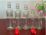 460ml de Fles van het sap van De Fles van het Glas van de Olijfolie en van de Olie van de Sesam