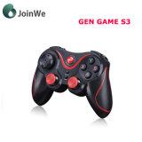 Regulador sin hilos del juego de la palanca de mando del juego S3 Bluetooth Gamepad Bluetooth de la GEN