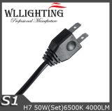 farol do diodo emissor de luz do carro de 12V H7 auto com 4000lm