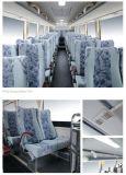 De passagier gebruikte de Lange Bus van de Route