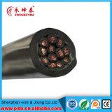 Cable eléctrico de cobre aislado XLPE acorazado subterráneo de la SWA del alambre de acero