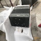 China através das telhas do granito de Lattea na cor do preto escuro