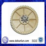 정밀도 주문 플라스틱 나일론 전송 기어 (DKL-G1208)