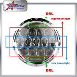 """지프를 위한 DRL를 가진 78W 고성능 LED 헤드라이트는, 7을 """" Jeep Cherokee를 위한 LED 헤드라이트 방수 처리한다"""
