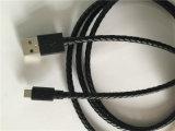 Кабель USB Micro 2.0 PU RoHS стандартный Braided
