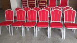 Prix de bonne qualité et meilleur empilant la présidence en aluminium de banquet en vente Jc-B1125