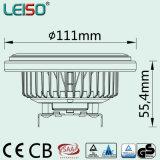 유일한 15W 특허 3dcob 크리 사람 반사체 AR111 LED 빛 (LS-S618-G53-BW/BWW)