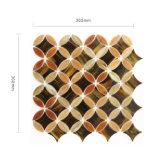装飾のためのイタリア様式のシャワーの床タイルのステンドグラスのモザイク