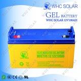 Bateria solar 100ah do gel do armazenamento de Whc 12V 100ah do bom preço