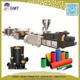 Производственная линия штрангпресса трубы из волнистого листового металла стены пластмассы HDPE/PVC двойная