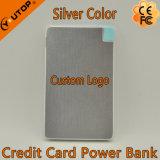 Ultra-Slim portefeuille portable Carte de poche Power Bank 2600mAh