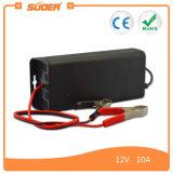Cargador de batería del inversor 10A 12V de Suoer con el modo de carga trifásico (SON-1210)