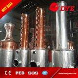 Equipo de cobre en grandes cantidades eficaz de la destilación