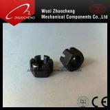 탄소 강철 hex에 의하여 배열되는 견과 DIN937 DIN979