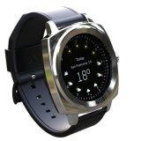 1.2 Zoll-Touch Screen Smartwatch Doppelbänder Bluetooth Uhr-gesunde Sorgfalt-intelligente Uhr