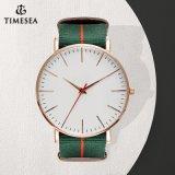 Neue Art-Handuhr-Mann-kundenspezifische Uhr grosse Dail Armbanduhr-Form-Mann-Uhren mit schwarzem Brown und Nylonband 72864
