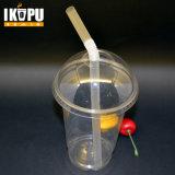 Tazza di plastica del frappè di Transpartent con buona qualità