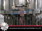 Relleno en caliente del jugo y máquina que capsula para la botella de cristal de la torsión
