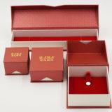 Vakje van de Juwelen van het Document Clamshell van de tik het Hoogste met het Hete (j83-EX) Stempelen