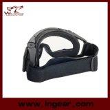 Verres de sûreté tactiques de lunettes de type de sport d'Airsoft sans bouton