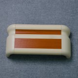 Barandilla de la seguridad de la barandilla del pasillo del protector de la pared del PVC para el hospital
