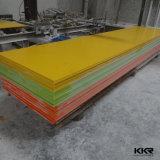 Panneaux décoratifs extérieurs solides acryliques dans le prix usine