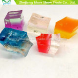 Hot Sale Water Double Color Cubes Water Beads Crystal Soil Decoration Wedding