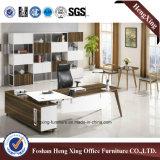 Самомоднейшая конструкция l стол офиса формы деревянный (HX-BS801)
