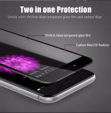 3D iPhoneのための柔らかい端の完全なカバー緩和されたガラス防眩継ぎ目が無いカバーと6 6s