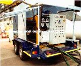 최고 이동할 수 있는 트레일러 유형 사용된 변압기 기름 공정 장치 (시리즈 ZYM)