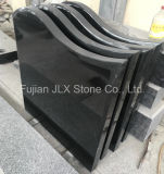 Jet Black Granite Gravestone / Tombstone / Headstone