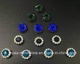 Горячий продавая Rhinestone кристалла 9mm в шить на Strass с Rhinestone установки когтя (TP-9mm полностью кристалл сапфира круглый)