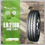 dos pneus de quatro rodas radiais resistentes TBR do pneumático do caminhão de 12.00r24 China pneumático barato com termo de garantia