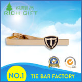 Customized Metal Gold Tie Clips para presente promocional No Minimum