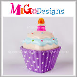 Gekleurde Spaarpot Cupcake voor het Geld van de Besparing