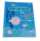 Les enfants d'impression de livre sautent vers le haut le livre